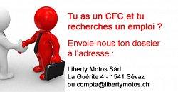 Liberty Motos - Recherche mécanicien