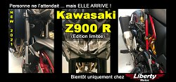 Liberty Motos - Kawasaki Z900 R moto modifiée exclu 2021